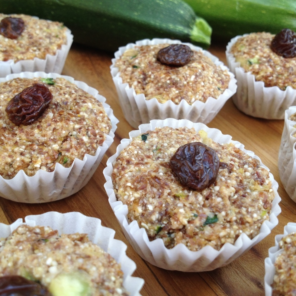 Raw zucchini muffins feasting on fruit there are a few things i remember most about the zucchini bread i grew up with forumfinder Images