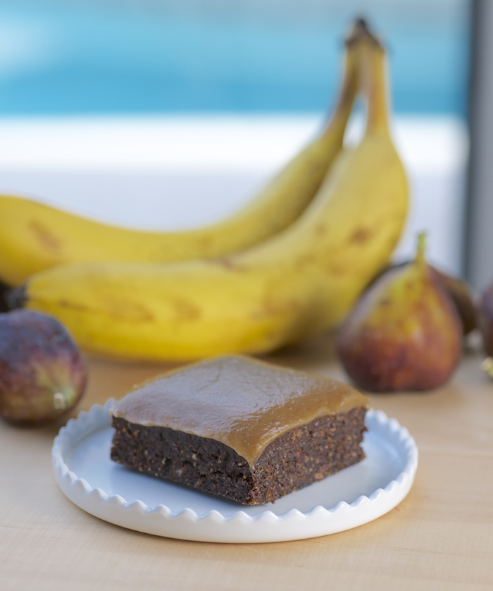 Raw Vegan Nut-Free Brownies