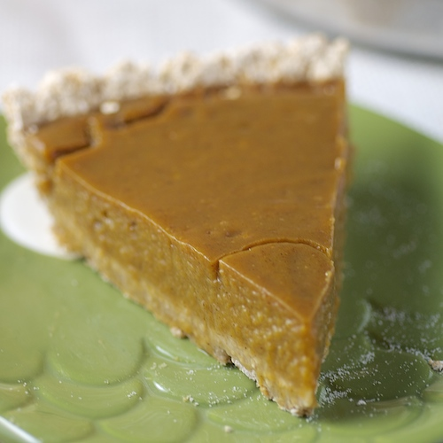 Banana Pumpkin Pie