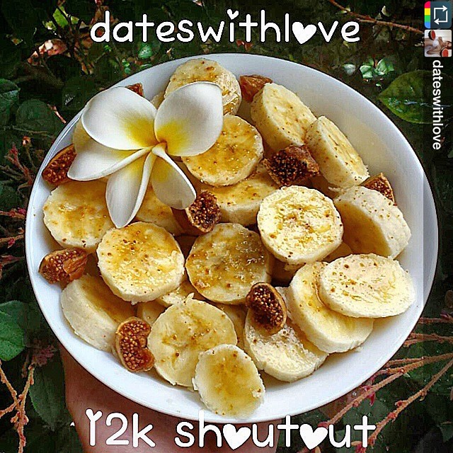 Repost from the wonderful @dateswithlove❤️ I recently found her Youtube channel, which is full of yummy #hclf food and inspiration👍 Oh and her yoga just blows me away! If you aren't following her already then you definitely need to change that! love you girl😘 #dateswithlove12k